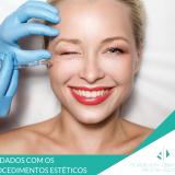 cuidados com os procedimentos estéticos. dermatologista Curitiba